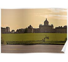 Castle Howard at twilight Poster