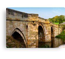 Bridge over the Derwent Canvas Print