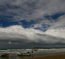 Stormy Sunday Surf Carnival by Andrew Mather