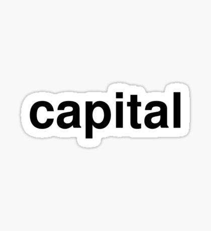 capital Sticker