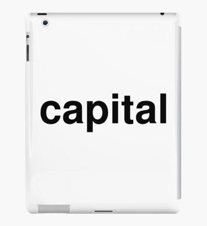 capital iPad Case/Skin
