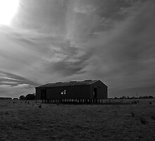 Old shearing shed by Andrew (ark photograhy art)