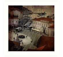 Piran City Art Print