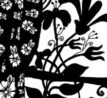 queen black bird  Sticker