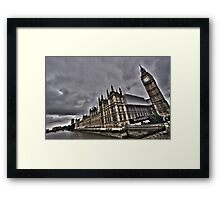House of Parliaments and Big Ben. Framed Print