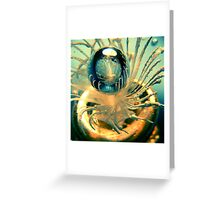 Rhythmatic Structure I Greeting Card