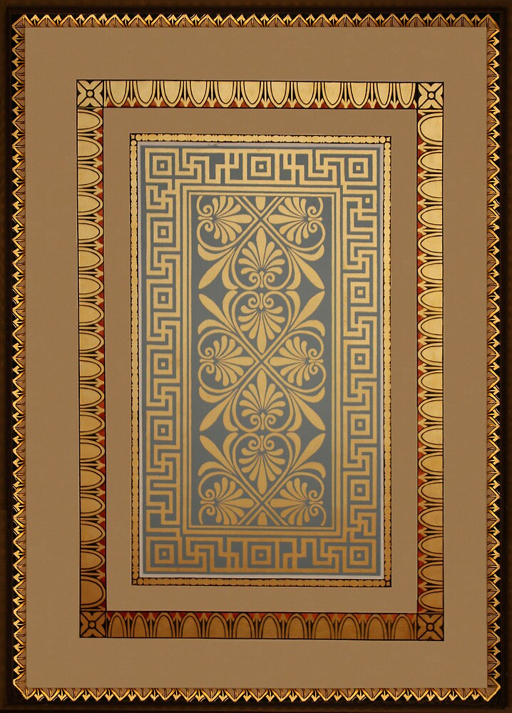 Roman swastika pattern by Christopher Biggs