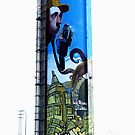 Graffiti on way to Seville by Marilyn Harris