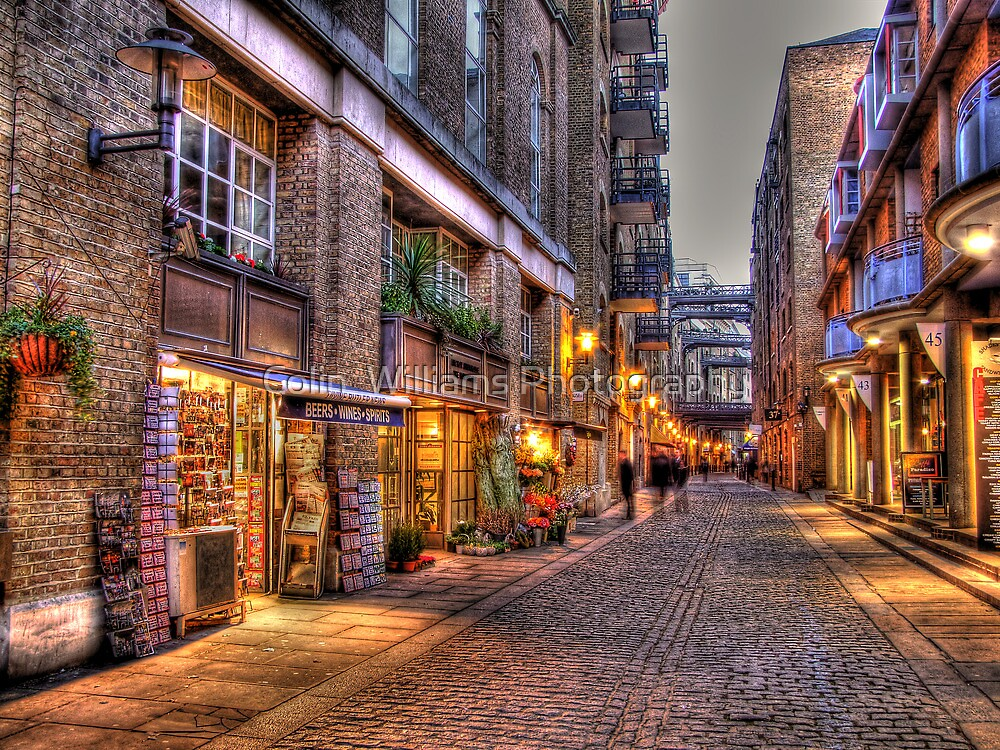 Shad Thames - HDR by Colin  Williams Photography