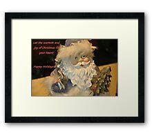 Seasons greetings! Framed Print