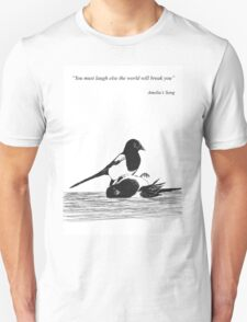 Magpies from Amelia's Song Unisex T-Shirt