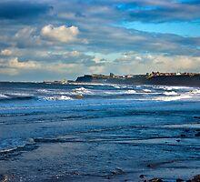 Seascape - Across the Bay by Trevor Kersley