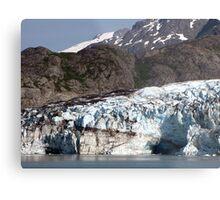 Glacial contrasts Metal Print