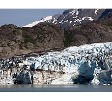 Glacial contrasts Photographic Print