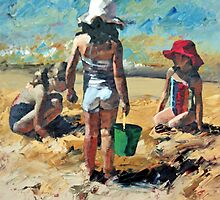 Sandcastles VII by Claire McCall