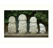 Zen Family Art Print