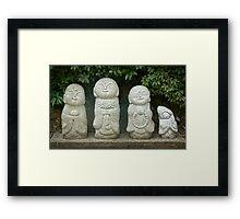 Zen Family Framed Print