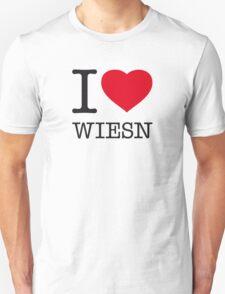 I ♥ WIESN Unisex T-Shirt