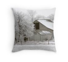 After the fog Throw Pillow
