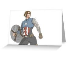 Captain Barnes Greeting Card
