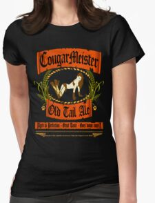 COUGARMEISTER Womens Fitted T-Shirt