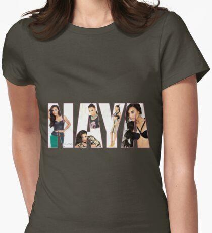 Naya Rivera Womens Fitted T-Shirt