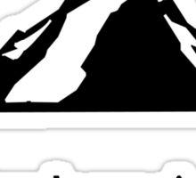 Simple needs rock climbing geek funny nerd Sticker