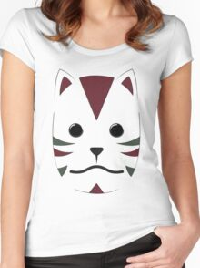 Anbu Mask Women's Fitted Scoop T-Shirt