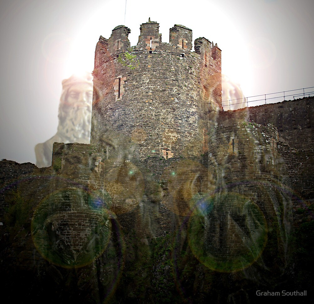 Ghostly Castle by Graham Southall