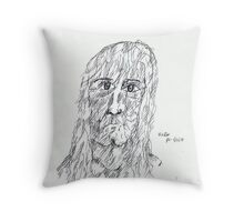 Unknown Lady Throw Pillow
