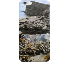 Stackpole Quay, Pembrokeshire- A Different View iPhone Case/Skin