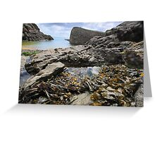 Stackpole Quay, Pembrokeshire- A Different View Greeting Card
