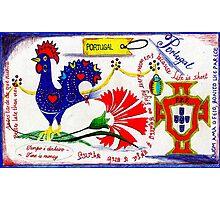 Portugal Doodle Photographic Print