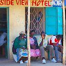 """Happy People at """"Road Side View"""" Hotel in Nairobi, KENYA by Atanas NASKO"""