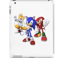Sonic, Tails and Knuckles - Sonic the Hedgehog iPad Case/Skin