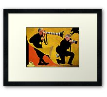 off the wall Framed Print