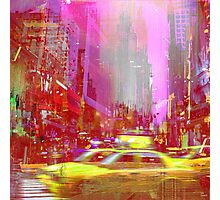 MOVING TO NEW YORK Photographic Print