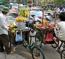 Saigon Street Vendors by Billy Hall