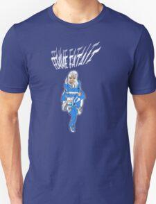 Femme Fatale Bright Blue Unisex T-Shirt
