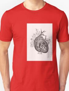 there's an empty space inside my heart where the weeds take root Unisex T-Shirt