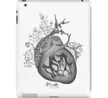 there's an empty space inside my heart where the weeds take root iPad Case/Skin