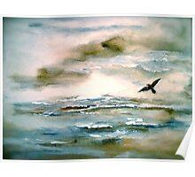 Nova Scotia...Where the Sea Meets the Sky.. Poster
