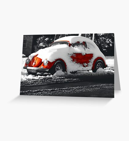 Snowy Brighton Greeting Card
