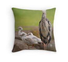 Just Blending In !!!!! Throw Pillow