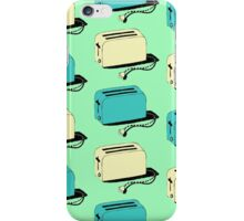 Toasters (mint & cream) iPhone Case/Skin