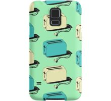 Toasters (mint & cream) Samsung Galaxy Case/Skin