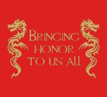 Bringing Honor To Us All Kids Tee
