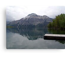 Still Waters, Linnet Lake Canvas Print