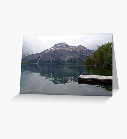 Still Waters, Linnet Lake Greeting Card