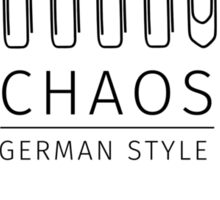 Chaos: German Style Sticker